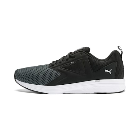 NRGY Asteroid Running Shoes, Puma Black-Puma White, small-IND