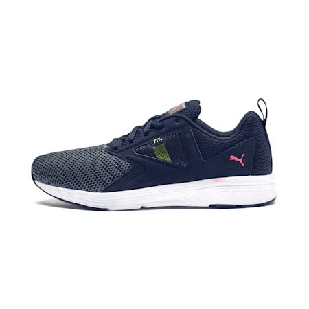 NRGY Asteroid Running Shoes | Puma Black-Pink Alert | PUMA ...