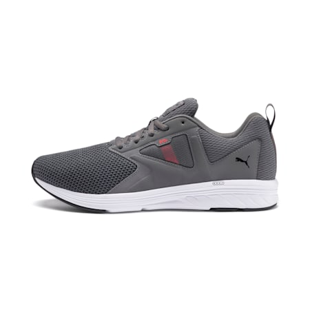 NRGY Asteroid Running Shoes, CASTLEROCK-Puma White, small-IND