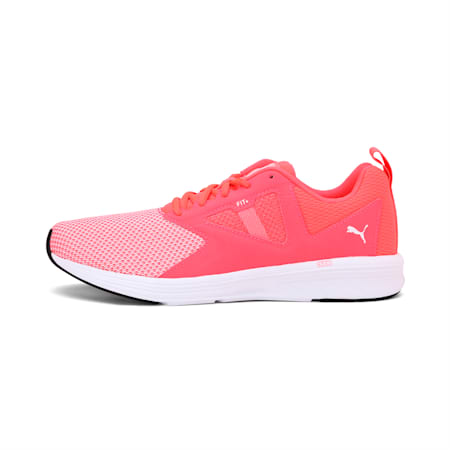NRGY Asteroid Running Shoes, Pink Alert-Puma White, small-IND
