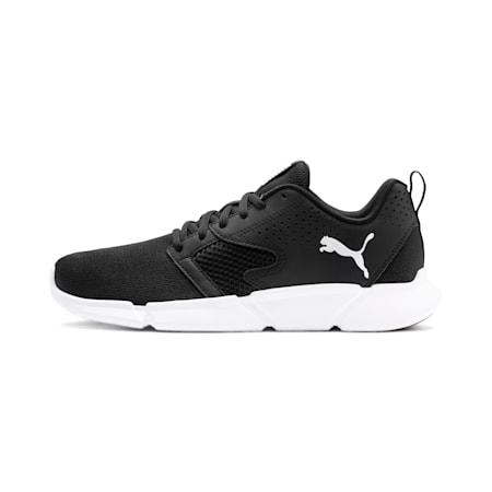 INTERFLEX SoftFoam Modern Unisex Sneakers, Puma Black-Puma White, small-IND