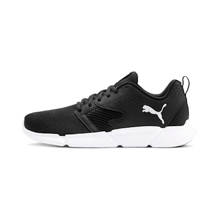 INTERFLEX Modern Running Shoes, Puma Black-Puma White, small-SEA