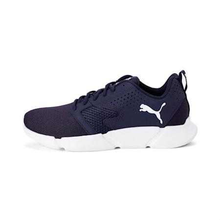 INTERFLEX SoftFoam Modern Unisex Sneakers, Peacoat-Puma White, small-IND