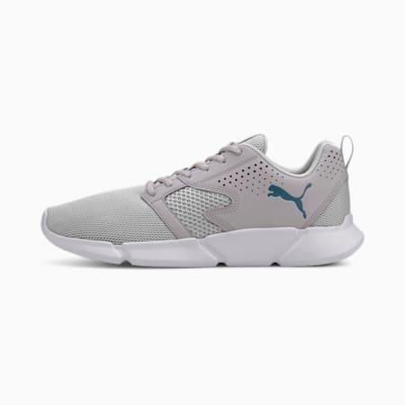INTERFLEX SoftFoam Modern Unisex Sneakers, Gray Violet-Digi-blue, small-IND