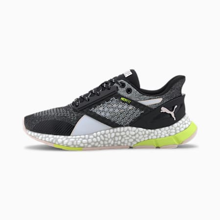 HYBRID NETFIT Astro Women's Running Shoes, Black-White-Rosewater, small-IND