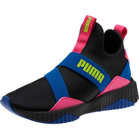 Defy Mid 90s Women's Training Shoes, Puma Black-Surf The Web, small