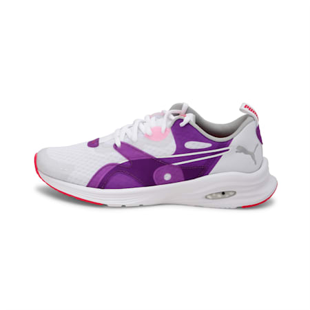 HYBRID Fuego Youth Shoes, Puma White-Royal Lilac, small-IND