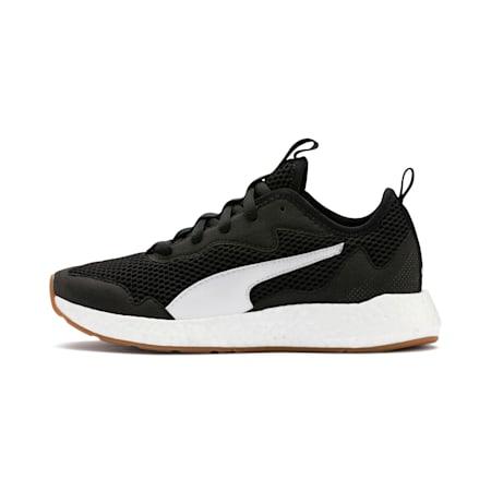 NRGY Neko Skim Running Shoes JR, Puma Black-Puma White, small-IND