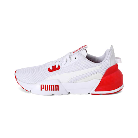 CELL Phase Sneakers JR, Puma White-High Risk Red, small-IND