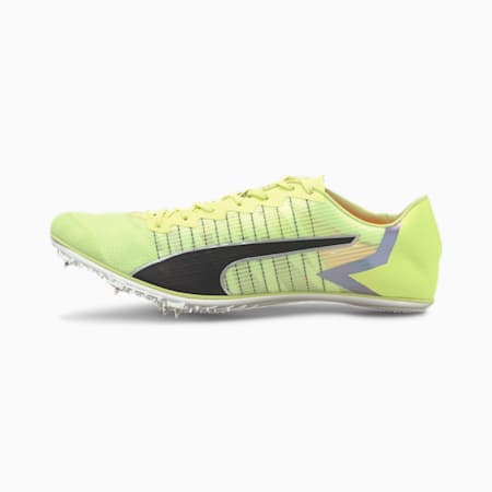 evoSPEED Tokyo Brush Track Spikes, Fizzy Yellow-Black-Nrgy Peac, small