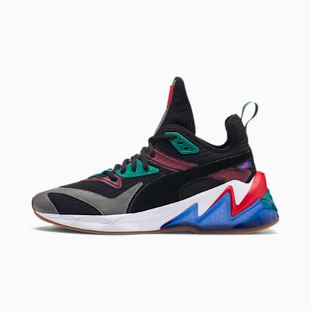LQDCELL Origin Men's Training Shoes, Puma Black-Cadmium Green, small