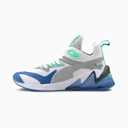 LQDCELL Origin Men's Training Shoes, Puma White-Palace Blue, small