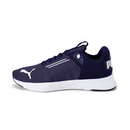 Flyer Modern Running Shoes, Peacoat-Puma White, small-IND