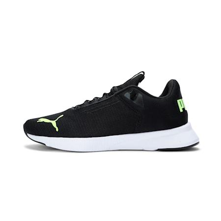 Flyer IMEVA Modern Running Shoes, Puma Black-Yellow Alert, small-IND