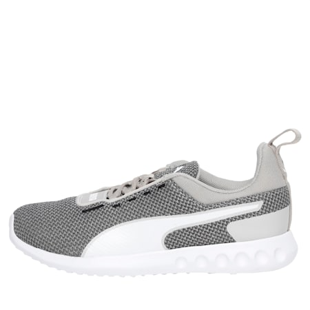 Concave Pro Women's Running Shoes, Silver Gray-P White-P Blk, small-IND