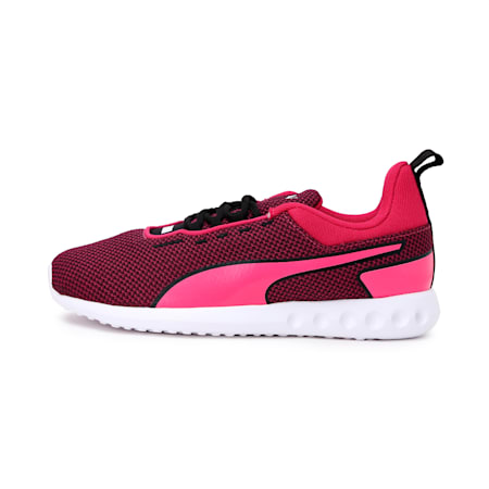 Concave Pro Women's Running Shoes, Puma Black-Purple-Puma White, small-IND