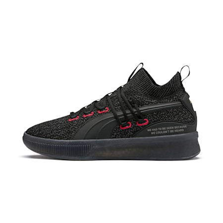 Clyde Court Reform Basketball Shoes, Puma Black, small