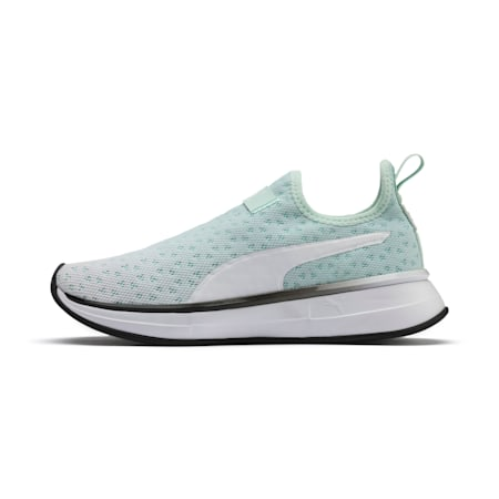 SG Slip-on Bright Fade Women's Training Shoes, Fair Aqua-Puma Black, small