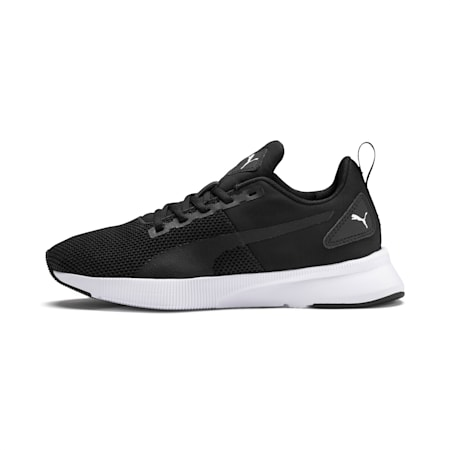 Flyer Runner Youth Trainers, Puma Black-Puma White, small