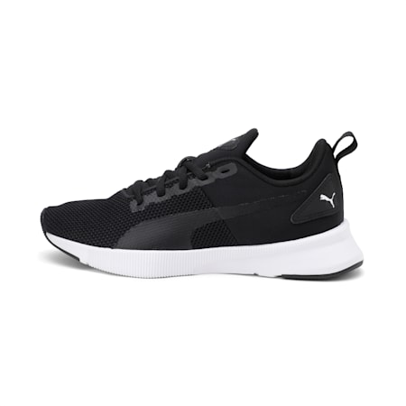 Flyer Runner SoftFoam Boys' Training Shoes JR, Puma Black-Puma White, small-IND