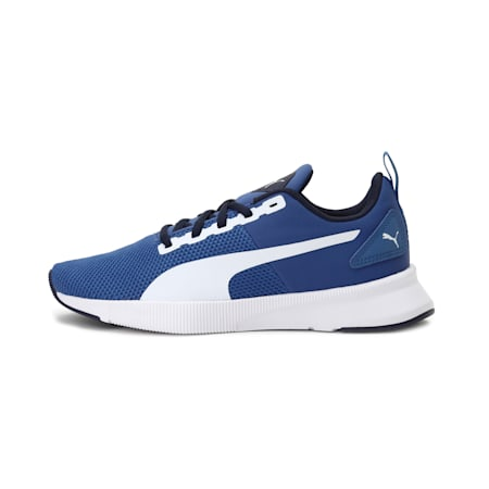 Flyer Runner Youth Shoes, Galaxy Blue-White-Peacoat, small-IND