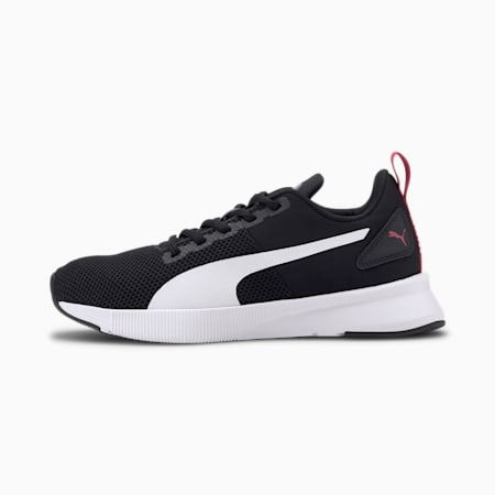 Flyer Runner Youth Trainers, Black-White-CASTLEROCK-BROSE, small-SEA
