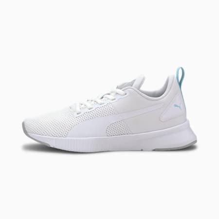 Młodzieżowe buty Flyer Runner, Wht-High Rise-GulfStream-Blk, small