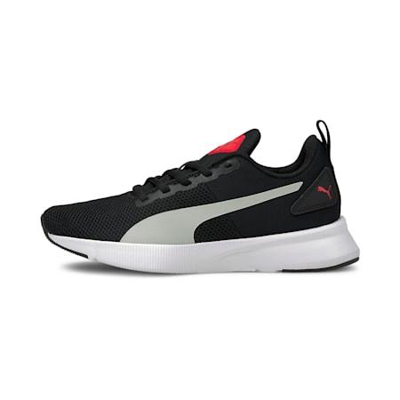 Flyer Runner SoftFoam Boys' Training Shoes, Puma Black-Gray Violet, small-IND