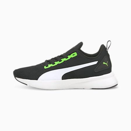 Flyer Runner SoftFoam Boys' Training Shoes, Green Flash-Puma White-Puma Black, small-IND