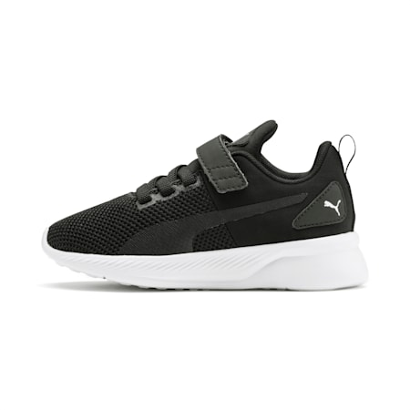 Flyer Runner V Kids' Shoes, Puma Black-Puma White, small-IND