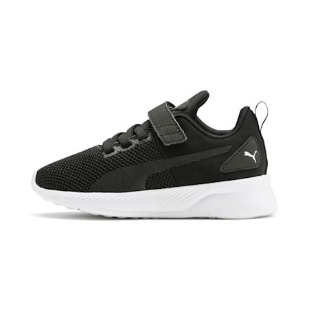 Flyer Runner V SoftFoam Kids' Shoes, Puma Black-Puma White, small-IND