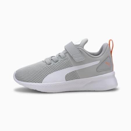 Flyer Runner V Kids' Shoes, High Rise-Puma White, small-IND