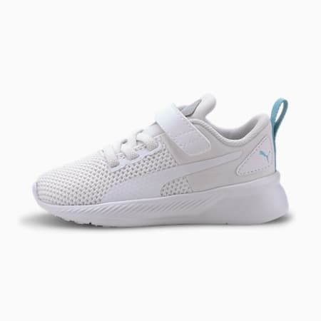 Flyer Runner Babies' Trainers, White-High Rise-Gulf Stream, small-SEA