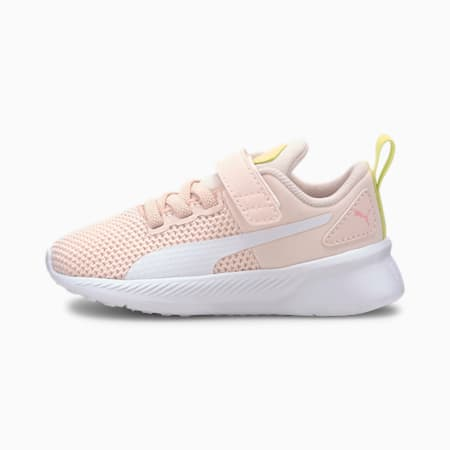 Flyer Runner Babies' Trainers, Rosewater-White-SLime-Peony, small-SEA