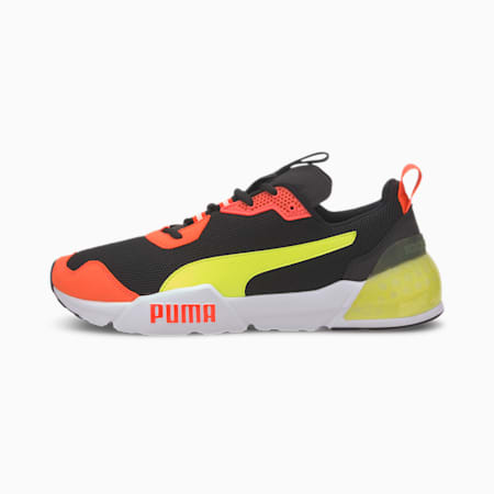CELL Phantom Men's Running Shoes, Puma Black-Lava Blast, small-IND