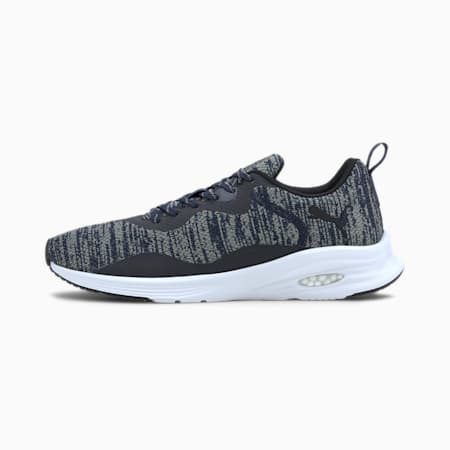 HYBRID Fuego evoKNIT Men's Running Shoes, Peacoat-Ultra Gray, small-IND