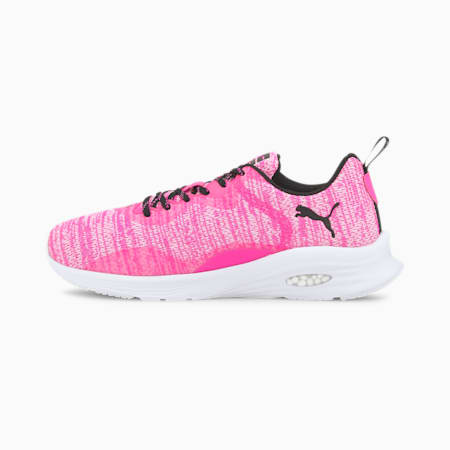 HYBRID Fuego Knit Women's Running Shoes, Luminous Pink-Puma White, small