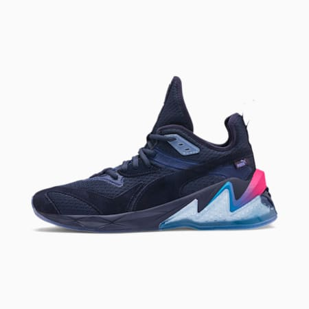 LQDCELL Origin Drone Night Men's Trainers, Peacat-Btr Prple-BLU Danube, small-SEA