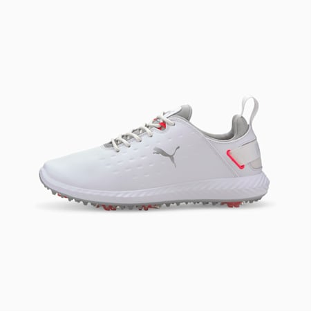 Blaze Pro IGNITE Women's Golf Shoes, Puma White-High Rise, small-GBR