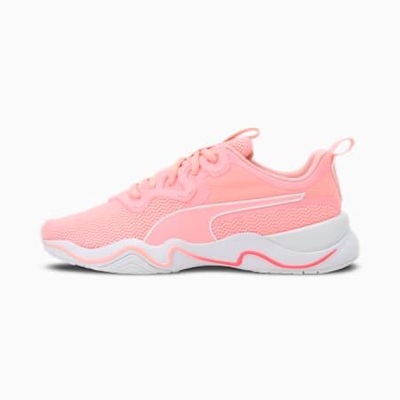 Zone XT Women's Training Shoes, Elektro Peach-Puma White, small-IND