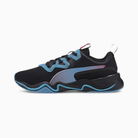 Zone XT Jelly Women's Training Shoes, Puma Black-Ethereal Blue, small