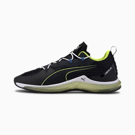 LQDCELL Hydra Men's Training Shoes, Puma Black-Yellow Alert, small-IND