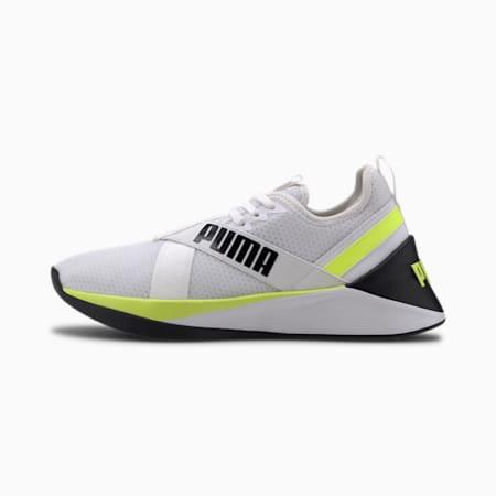 Jaab XT PWR Women's Training Shoe, Puma White-Yellow Alert, small-IND