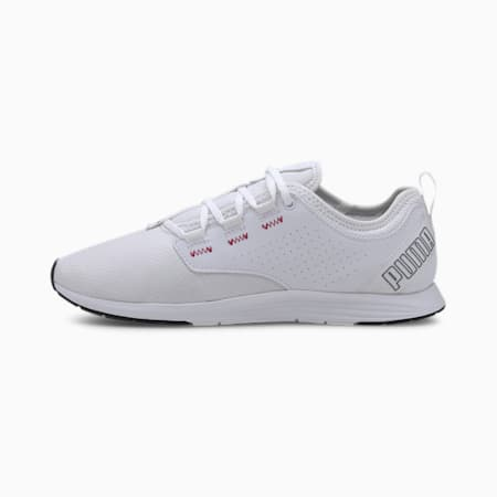 Ella Women's Training Shoe, Puma White-Ignite Pink, small-IND