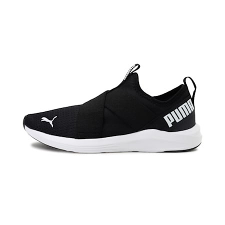 Prowl Women's Slip-On Training Shoes, Puma Black-Puma White, small-IND