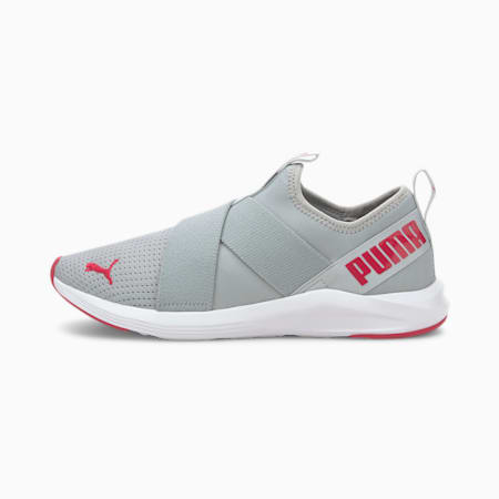 Prowl Women's Slip-On Training Shoes, High Rise-Ignite Pink, small-IND
