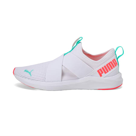 Prowl Slip On Women's Training Shoes, Puma White-Ignite Pink, small-IND
