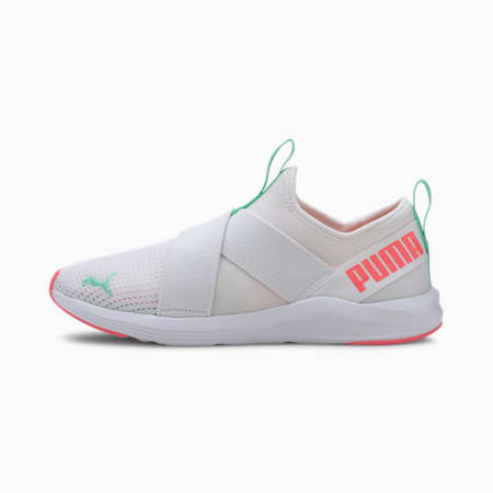Prowl Slip On Women's Training Shoes, Puma White-Ignite Pink, small-SEA
