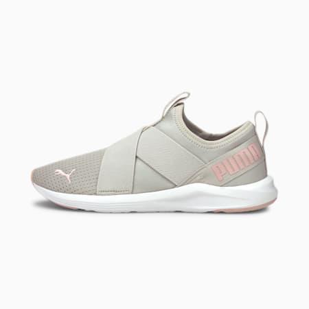 Zapatos de entrenamiento para mujeres sin cordonesProwl, Gray Violet-Lotus, pequeño