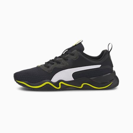 Zone XT Men's Training Shoes, Puma Black-Yellow Alert, small
